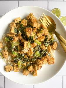 Simple Sesame Tempeh Stir Fry