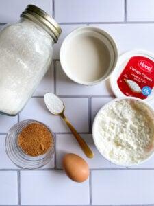 Cottage Cheese Pancakes Ingredients