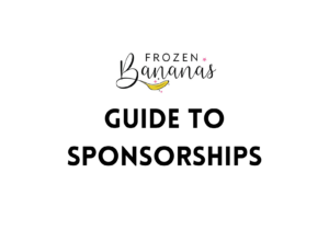 Guide to Sponsorships