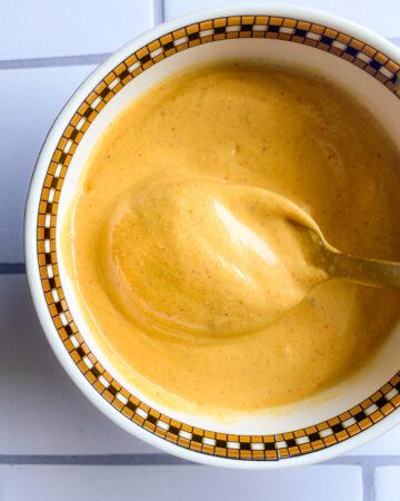 Pumpkin Tahini Salad Dressing
