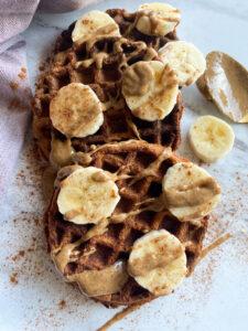 Sweet Potato Protein Waffles