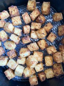 Air Fryer Tofu with Sweet Garlic Sauce