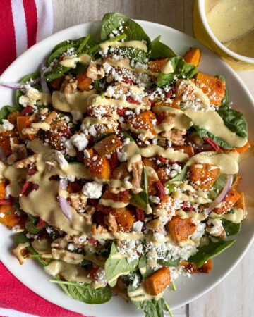 Butternut Squash Salad with Truffle Dressing