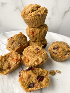 Morning Glory Baked Oatmeal Cups