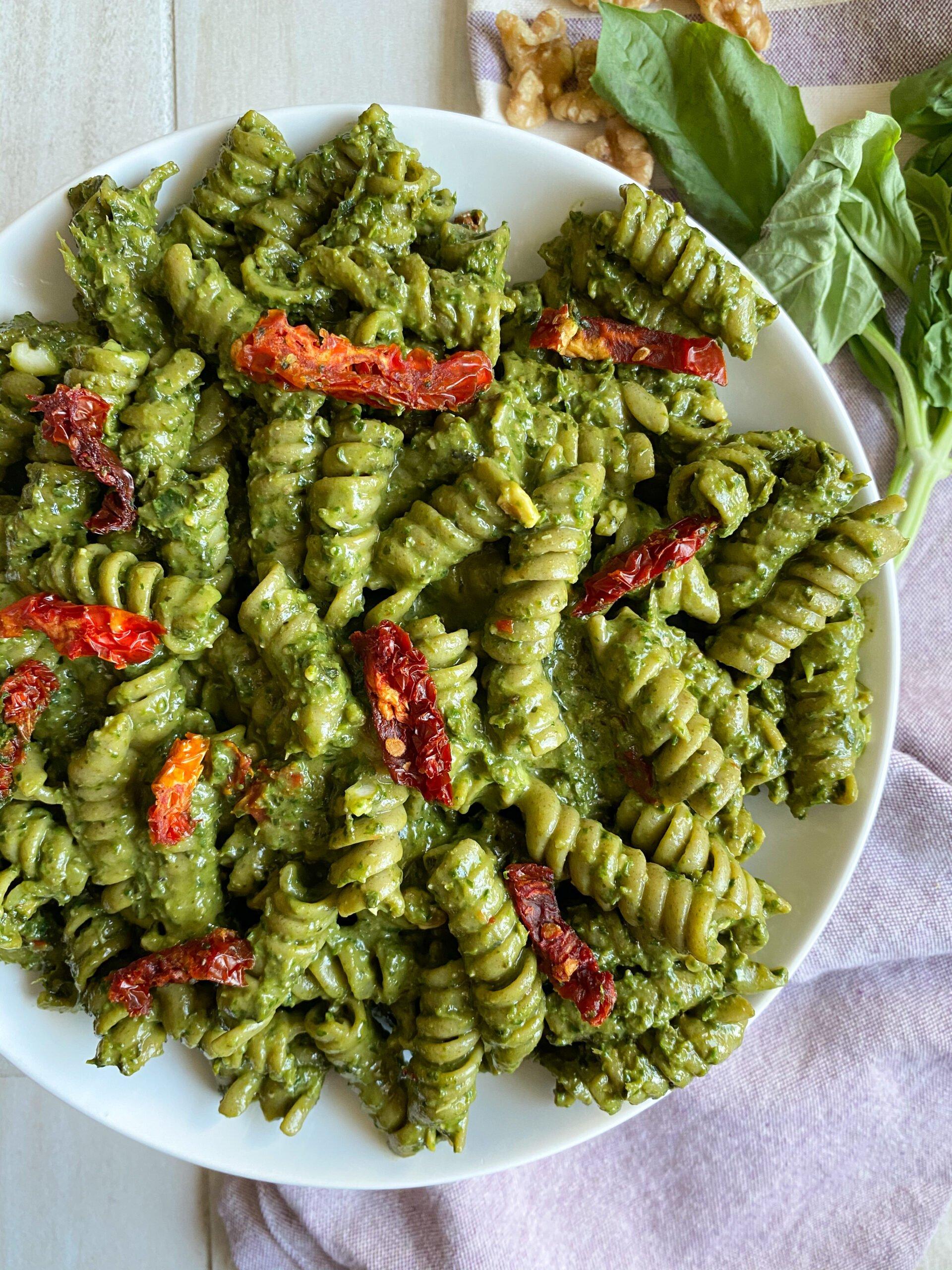 Spinach Avocado Pesto Sauce