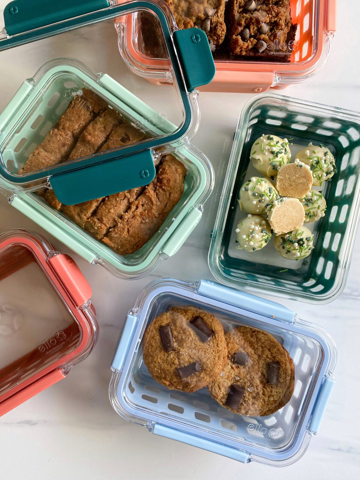 Ello DuraglassTM 10pc Meal Prep