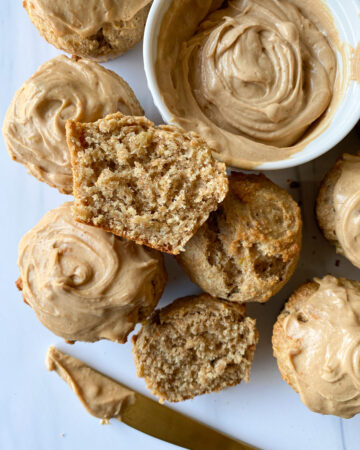 Healthy Whole Wheat Banana Muffins