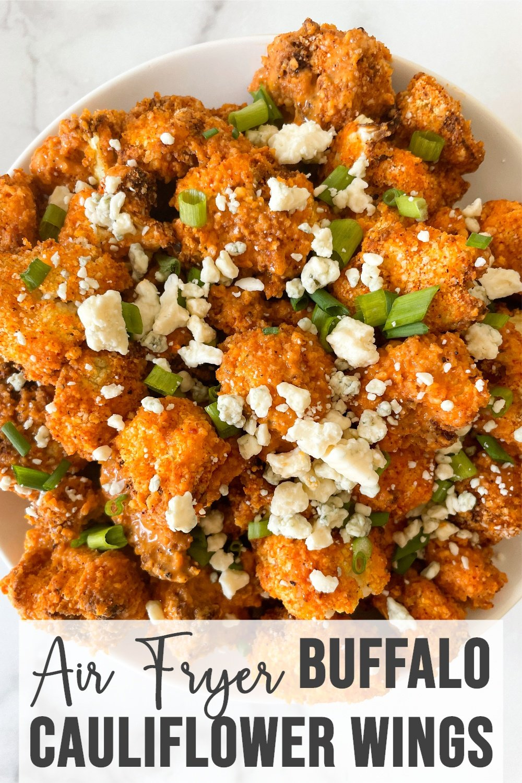 Air Fryer Buffalo Cauliflower Wings