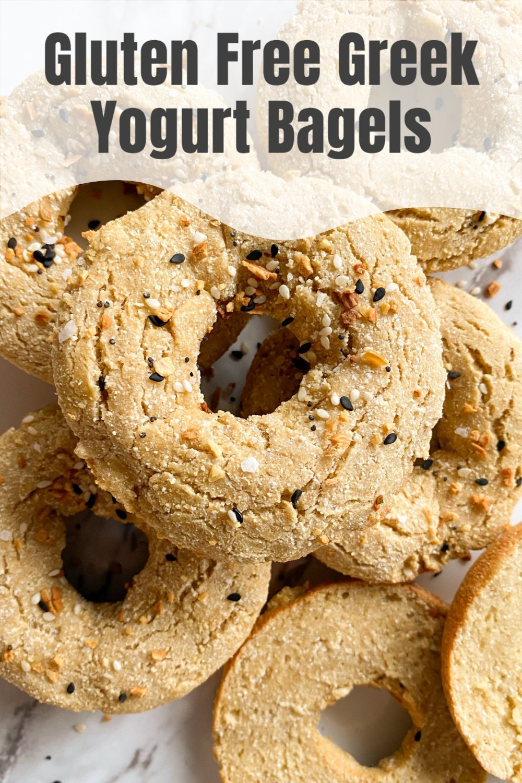 Healthy Gluten Free Greek Yogurt Bagels