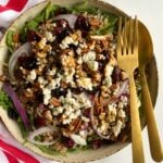 Easy Farro Salad with Arugula and Cranberries
