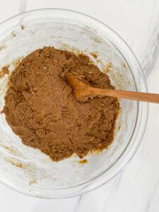Gluten Free Gingerbread Biscotti Dough