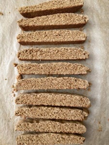 Cooked Gingerbread Biscotti