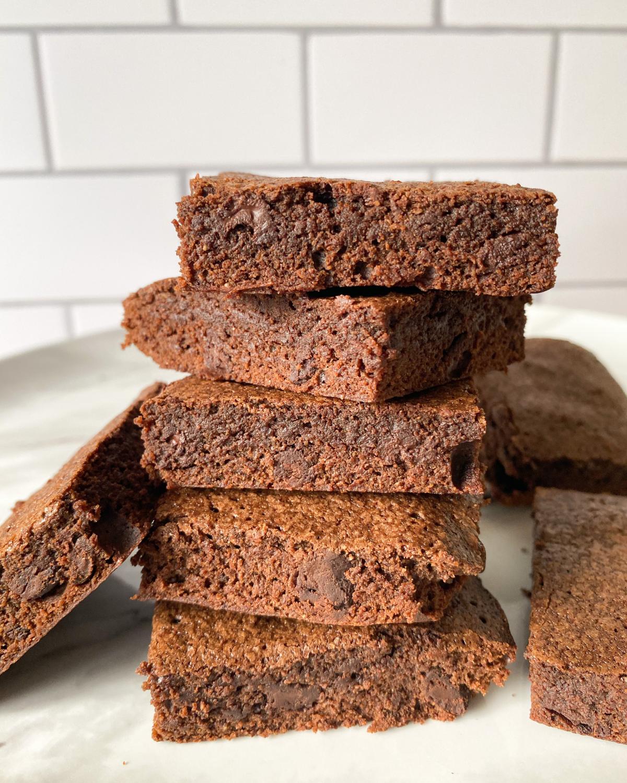 One Bowl Oat Flour Brownies