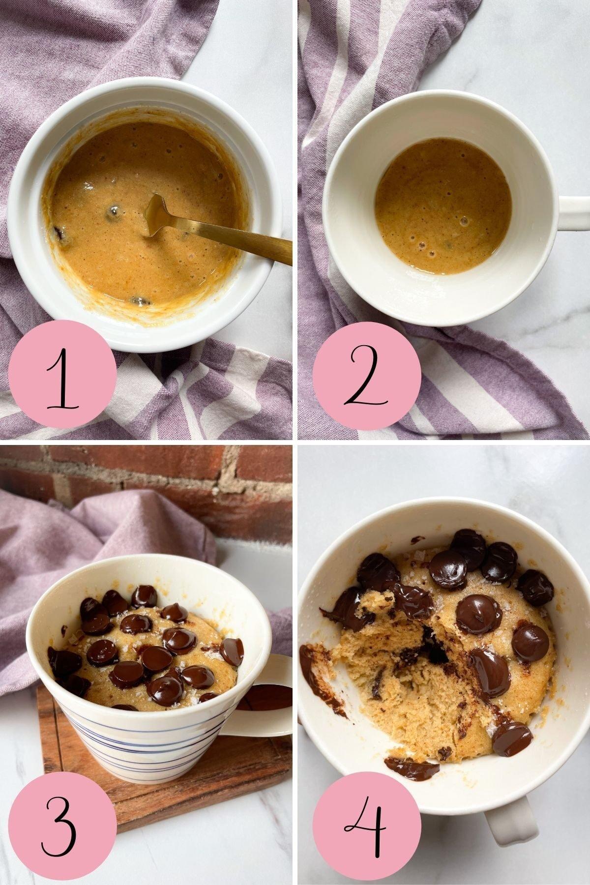 how to make honey mug cake